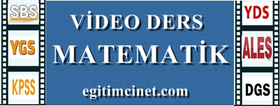 matematik video ders